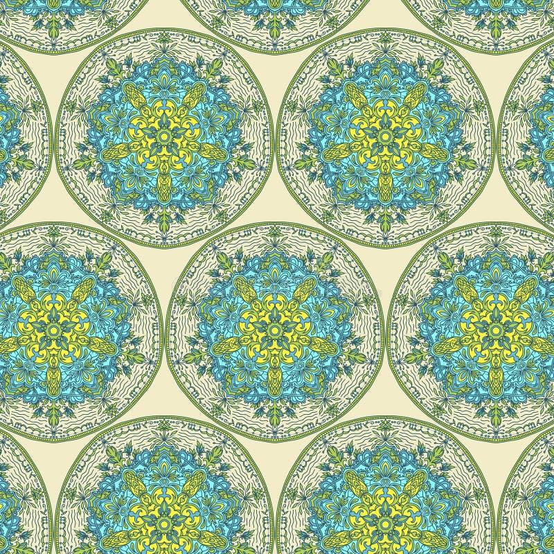 Ασιατικό σχέδιο, απεικόνιση Ισλάμ, αραβικά ινδικά τουρκικά μοτίβα στοκ εικόνα