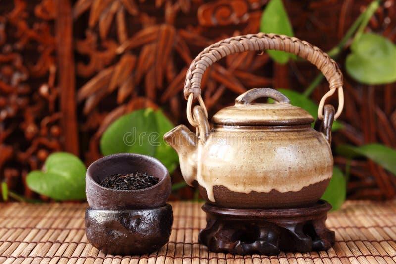 ασιατικό τσάι στοκ εικόνα