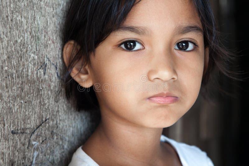 ασιατικό χαριτωμένο πορτρέ στοκ εικόνες