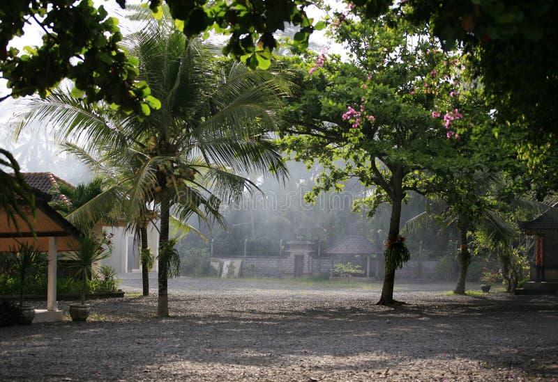 ασιατικό χωριό στοκ φωτογραφία