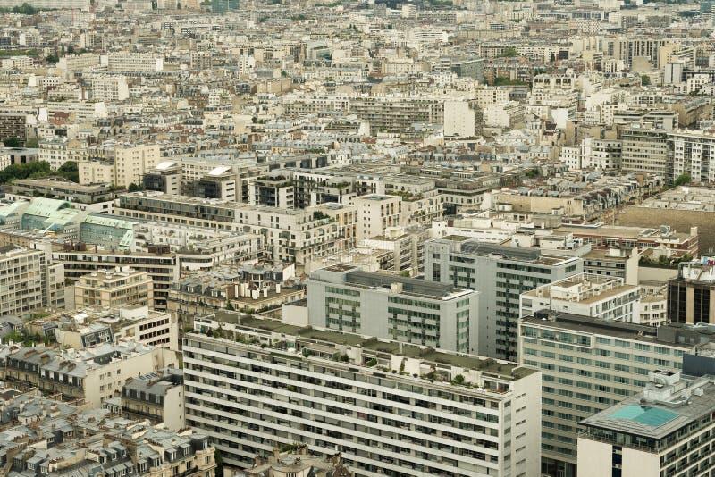 Ασπρισμένοι φραγμοί πύργων του Παρισιού στοκ φωτογραφία