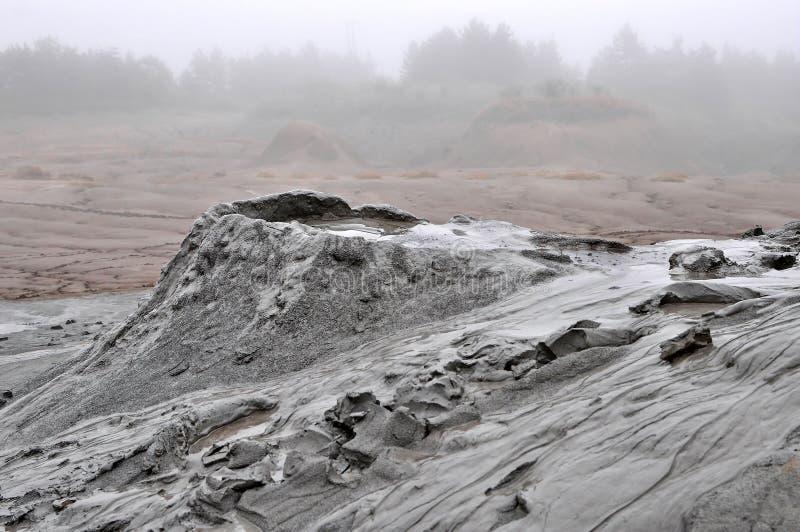 λασπώδες ηφαίστειο στοκ εικόνες