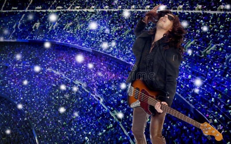 Αστέρας της ροκ στοκ εικόνες με δικαίωμα ελεύθερης χρήσης
