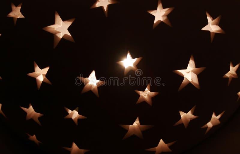 αστέρια ανασκόπησης στοκ φωτογραφία με δικαίωμα ελεύθερης χρήσης