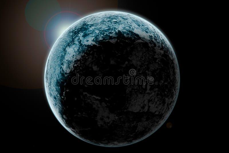 αστέρια γήινων πλήρη πλανητών ανασκόπησης στοκ φωτογραφίες με δικαίωμα ελεύθερης χρήσης