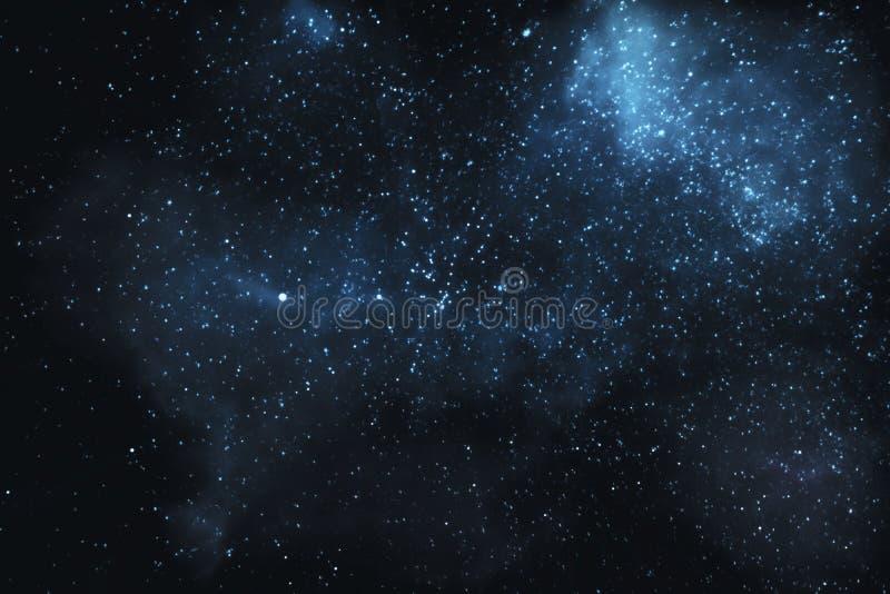 Αστέρια και νεφελώματα στον κόσμο διανυσματική απεικόνιση