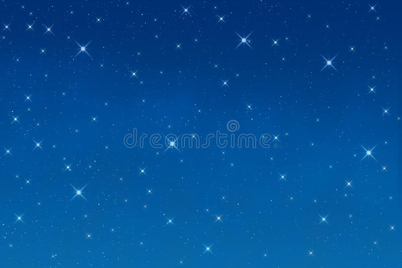 αστέρια νύχτας ελεύθερη απεικόνιση δικαιώματος
