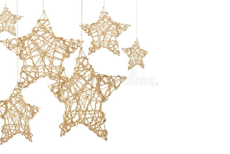 αστέρια Χριστουγέννων στοκ εικόνες