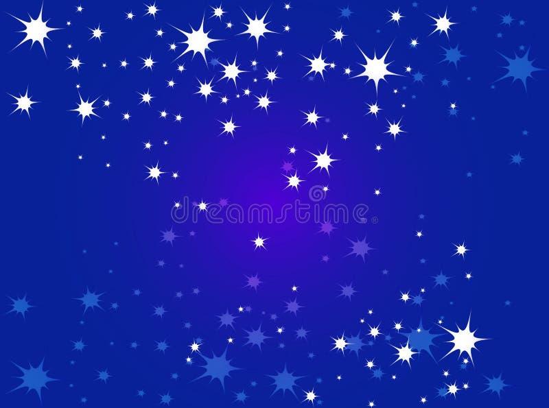 Αστέρια διανυσματική απεικόνιση