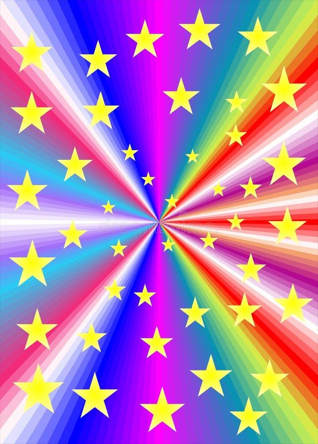 αστέρια ελεύθερη απεικόνιση δικαιώματος