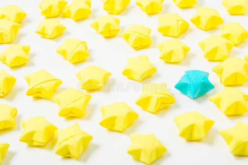Αστέρια Origami στοκ φωτογραφίες με δικαίωμα ελεύθερης χρήσης