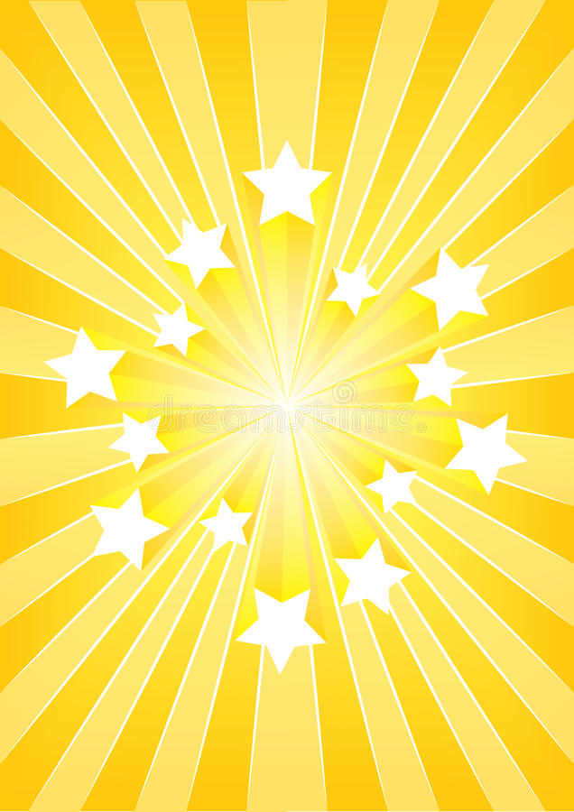 αστέρι έκρηξης απεικόνιση αποθεμάτων