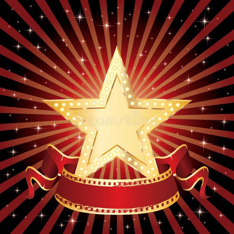 αστέρι ακτίνων παρουσίαση& απεικόνιση αποθεμάτων