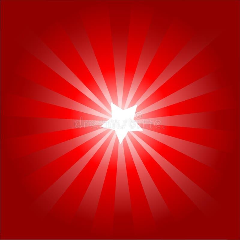 αστέρι ανασκόπησης διανυσματική απεικόνιση