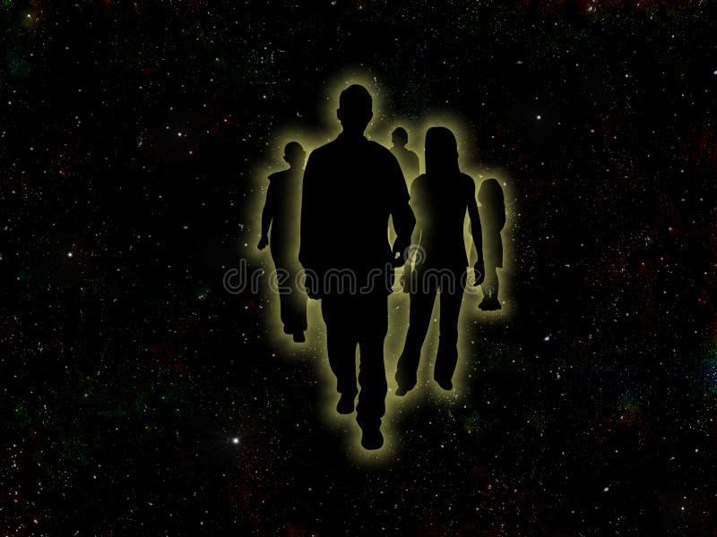 αστέρι ανθρώπων απεικόνιση αποθεμάτων