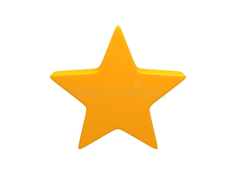 αστέρι κίτρινο στοκ φωτογραφία με δικαίωμα ελεύθερης χρήσης