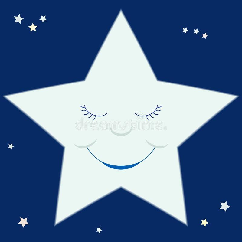 αστέρι κινούμενων σχεδίων διανυσματική απεικόνιση