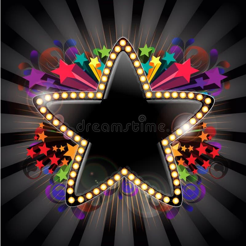 αστέρι μηνυμάτων ελεύθερη απεικόνιση δικαιώματος