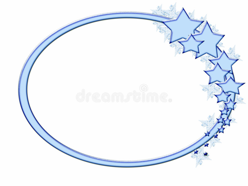 αστέρι πλαισίων χειμερινό διανυσματική απεικόνιση