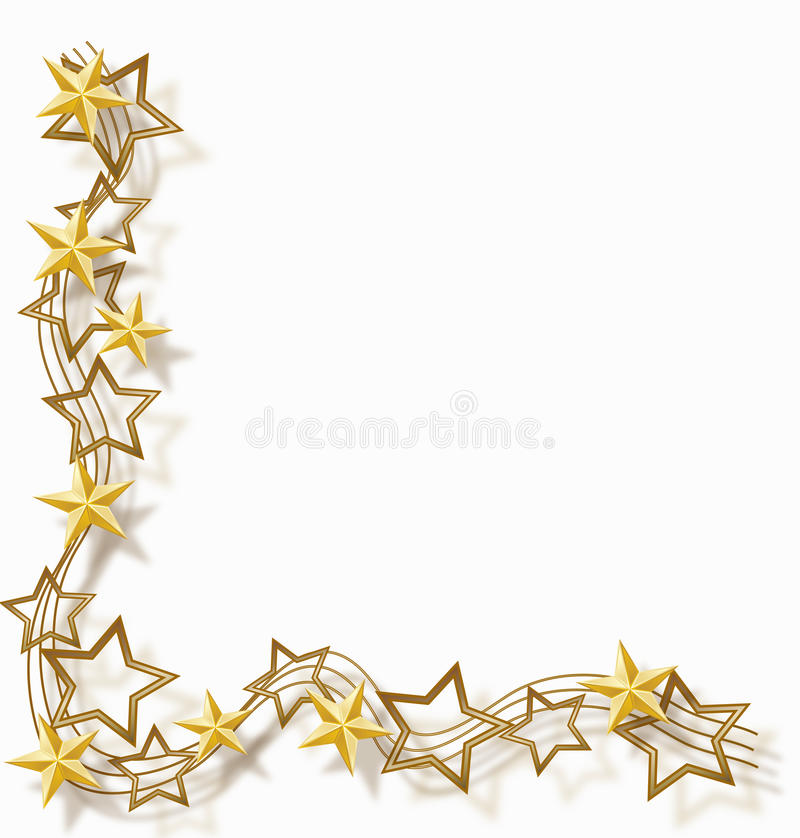 αστέρι πλαισίων διανυσματική απεικόνιση