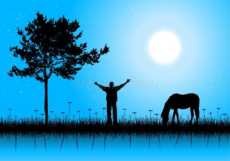αστέρι πρωινού διανυσματική απεικόνιση