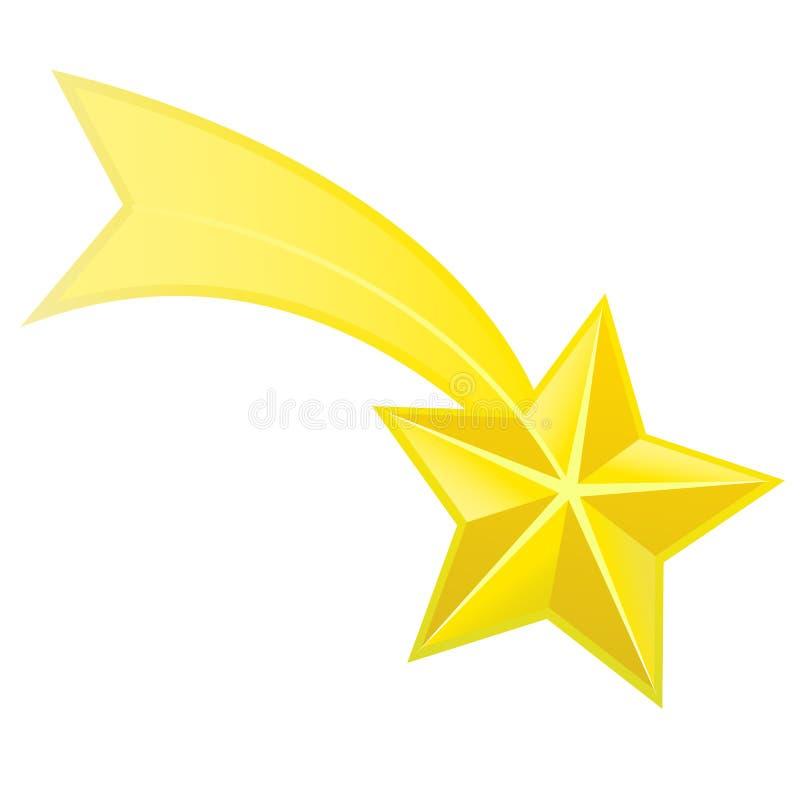 Αστέρι πυροβολισμού ελεύθερη απεικόνιση δικαιώματος