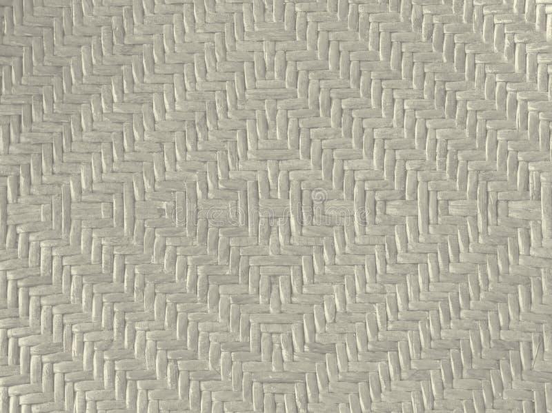 Αστέρι σχεδίων ύφανσης που διαμορφώνεται του υποβάθρου μπαμπού στο μαύρο τόνο στοκ φωτογραφία