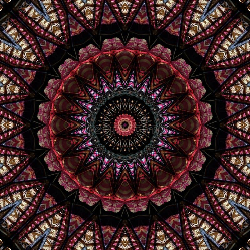Αστέρι φιαγμένο από στροφία νημάτων διανυσματική απεικόνιση