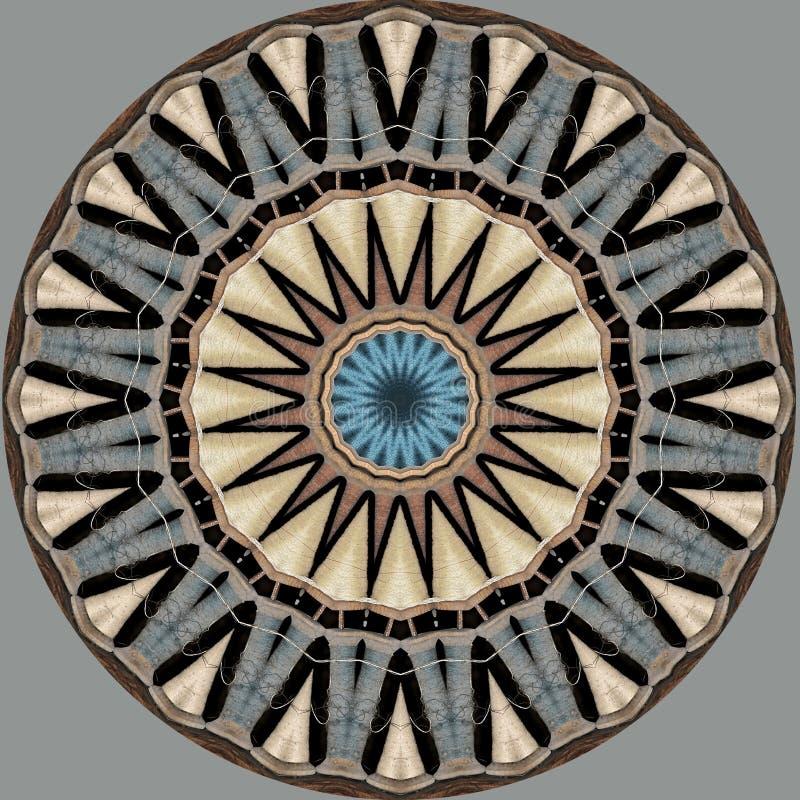 Αστέρι φιαγμένο από στροφία νημάτων ελεύθερη απεικόνιση δικαιώματος