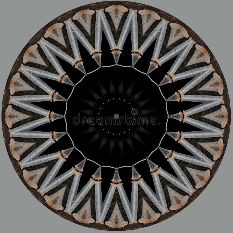 Αστέρι φιαγμένο από στροφία νημάτων απεικόνιση αποθεμάτων