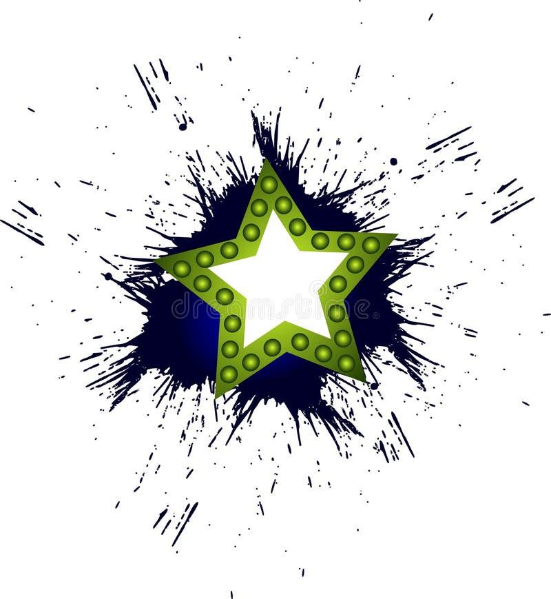 Αστέρι ελεύθερη απεικόνιση δικαιώματος
