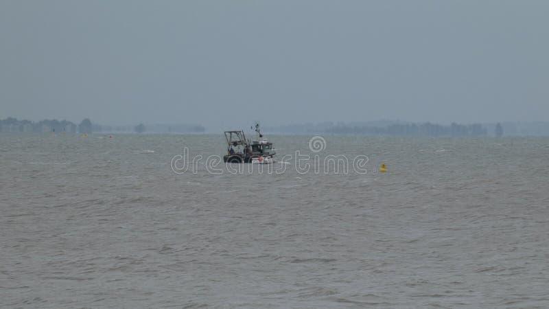 Αστακός που αλιεύει πριν από τη θύελλα στην Αγγλία 1 στοκ φωτογραφίες