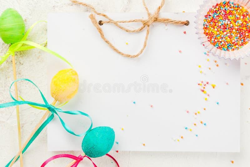 Αστεία γλυκά σοκολάτας για Πάσχα στοκ εικόνες