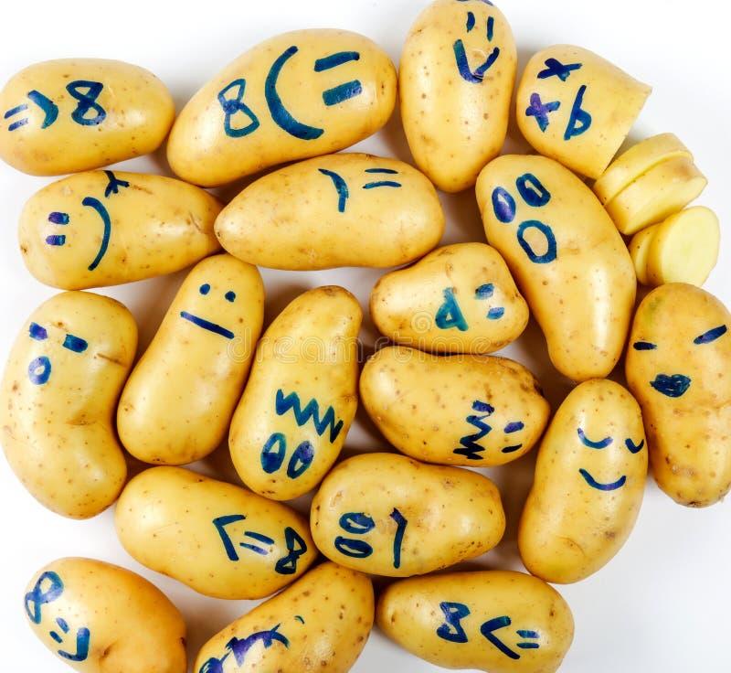 αστεία πατάτα στοκ εικόνες