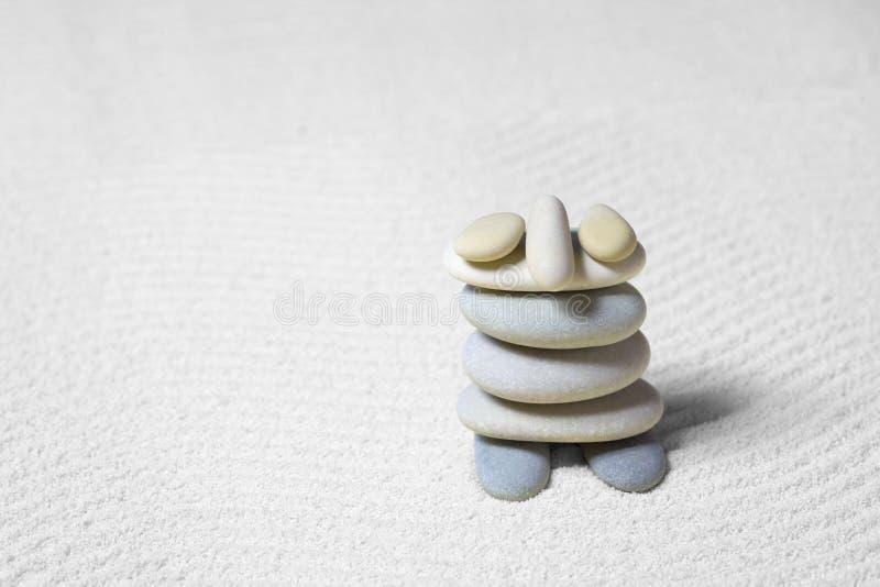 αστείες πέτρες λίγης γίν&omicron στοκ φωτογραφία