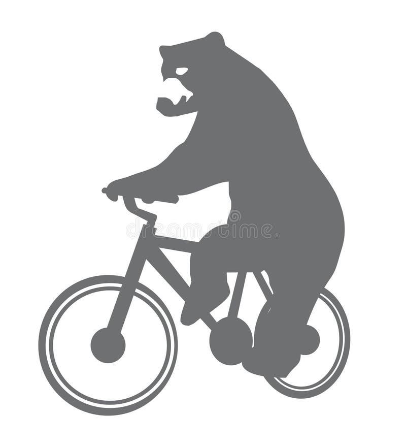Αστείος αφορτε ένα ποδήλατο στοκ εικόνες με δικαίωμα ελεύθερης χρήσης