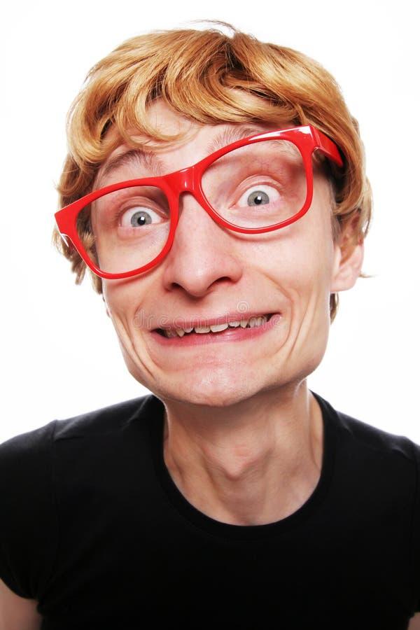 αστείος τύπος στοκ φωτογραφία με δικαίωμα ελεύθερης χρήσης