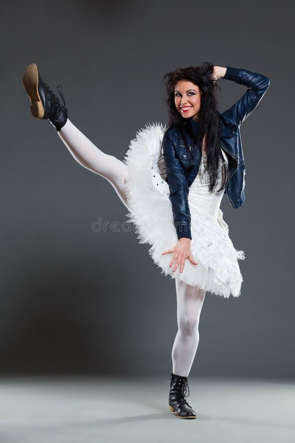 Αστείος χορευτής μπαλέτου στοκ φωτογραφία με δικαίωμα ελεύθερης χρήσης