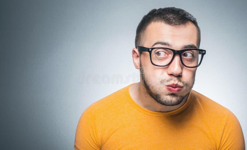 Αστείο άτομο στοκ φωτογραφίες