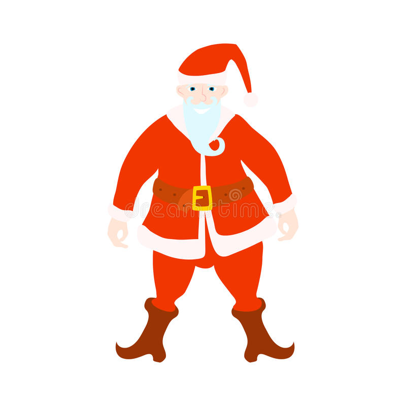 αστείο santa χαιρετισμός Χριστουγέννων καρτών ελεύθερη απεικόνιση δικαιώματος