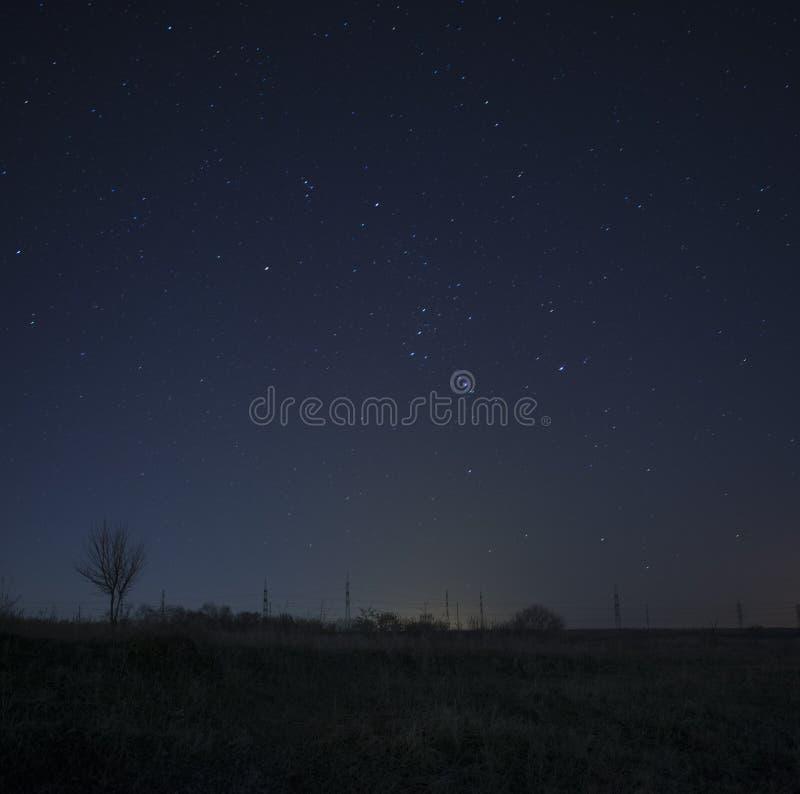 Αστερισμός του Orion στοκ εικόνα με δικαίωμα ελεύθερης χρήσης
