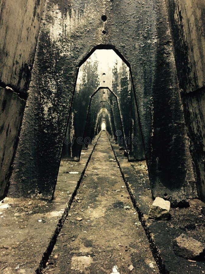 αστική χαμένη σκηνή στοκ φωτογραφίες