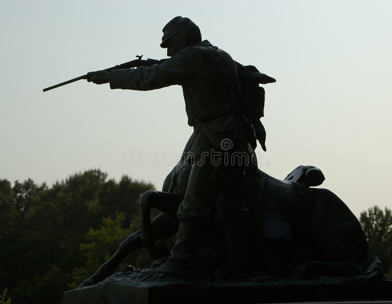 αστικός πόλεμος munument vicksburg στοκ φωτογραφία με δικαίωμα ελεύθερης χρήσης