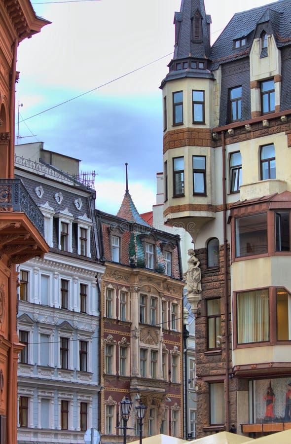 Αστικός φυσικός της παλαιάς πόλης της Ρήγας στοκ φωτογραφία με δικαίωμα ελεύθερης χρήσης