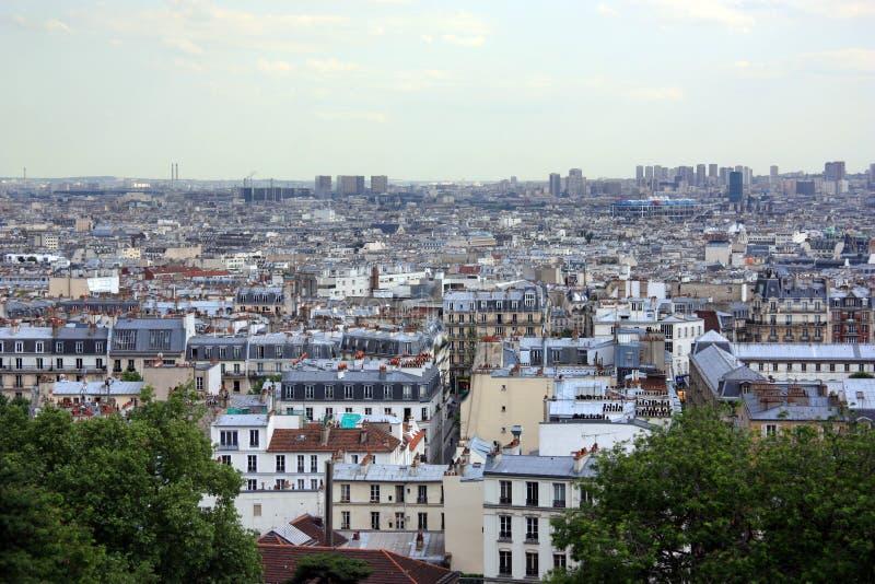 Αστικό τοπίο Παρίσι στοκ φωτογραφίες με δικαίωμα ελεύθερης χρήσης