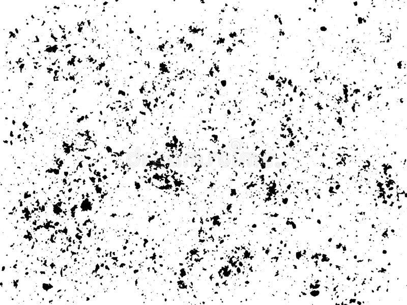 Αστικό υπόβαθρο Grunge λεκέδων μελανιού Διάνυσμα σύστασης Επικάλυψη σκόνης διανυσματική απεικόνιση