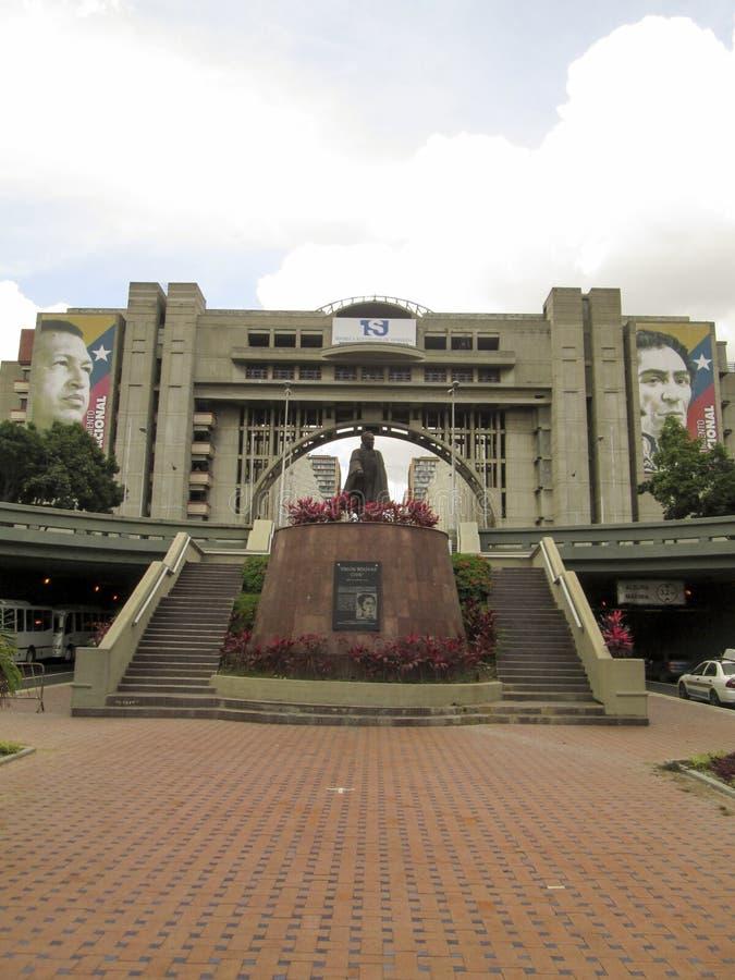 Αστικό bolívar, bolívar αστικό, λεωφόρος bolívar, bolívar Avenida, Καράκας, Βενεζουέλα στοκ φωτογραφία με δικαίωμα ελεύθερης χρήσης