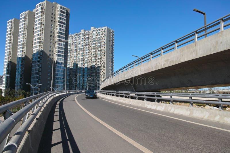 Αστικό overpass στοκ φωτογραφία με δικαίωμα ελεύθερης χρήσης