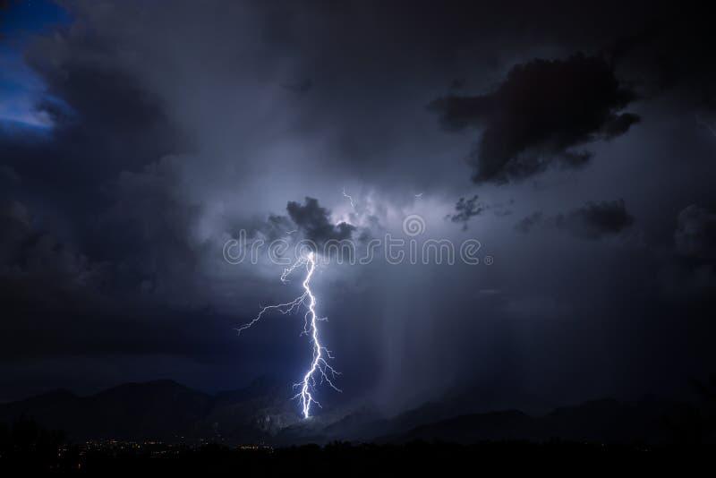 Αστραπή του Tucson στοκ φωτογραφίες με δικαίωμα ελεύθερης χρήσης