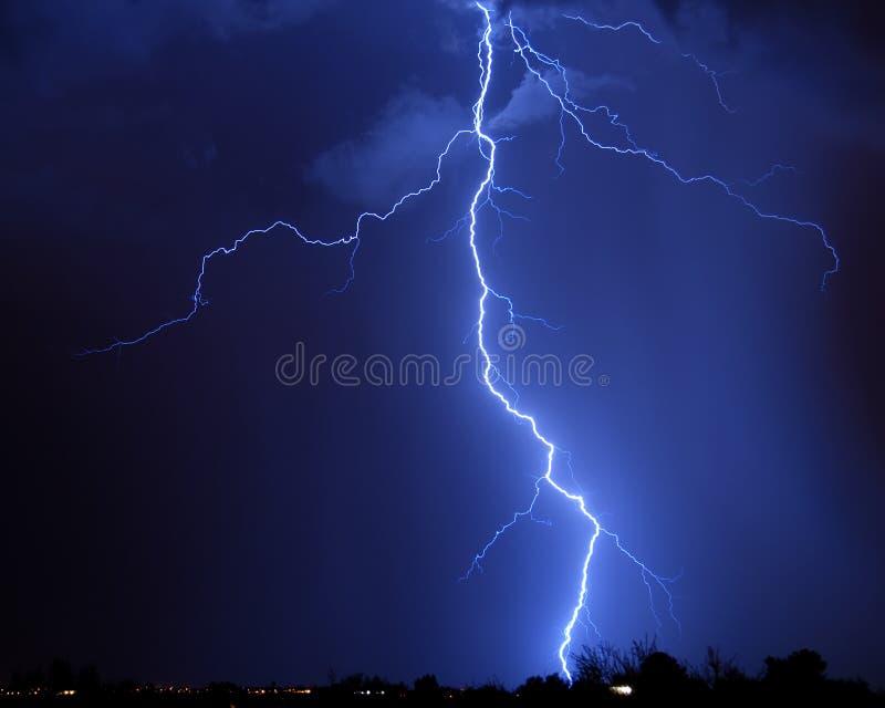 αστραπή Tucson AZ στοκ εικόνες με δικαίωμα ελεύθερης χρήσης